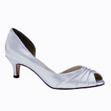 Abby Low Heel Bridal Shoes