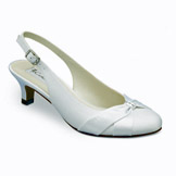 Destiny Low Heel Bridal Shoes