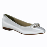 Ellie Flat Heel Bridal Shoes