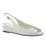 Jocelyn White Low Heel Bridal Shoes