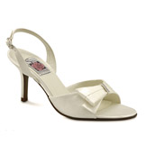 Mischa Ivory High Heel Bridal Shoes