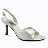 Mischa White High Heel Bridal Shoes