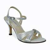Tori Mid Heel Bridal Shoes
