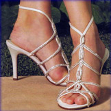 Valentina Sky High Heel Bridal Shoes